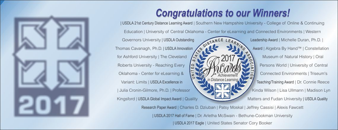 2017 International Distance Learning Awards