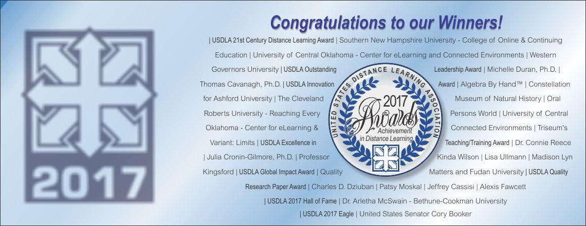 2017 International Distance Learning Awards