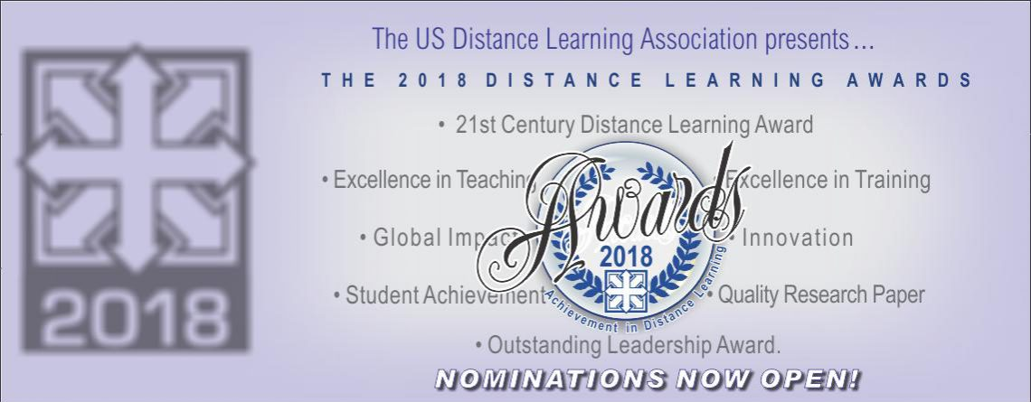 2018 International Distance Learning Awards